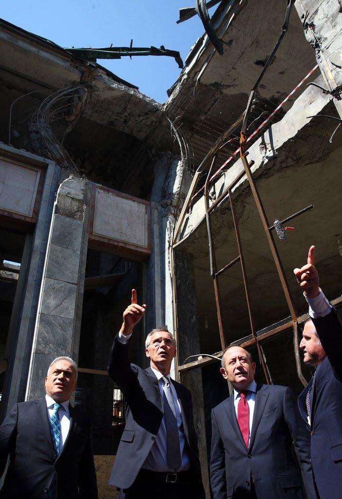 NATO Genel Sekreteri Stoltenberg Meclis'i ziyaret etti