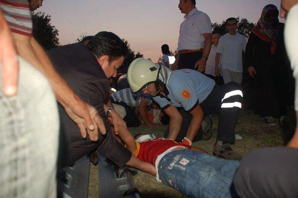 Bolu'da Kur'an kursu öğrencilerini taşıyan araç kaza yaptı