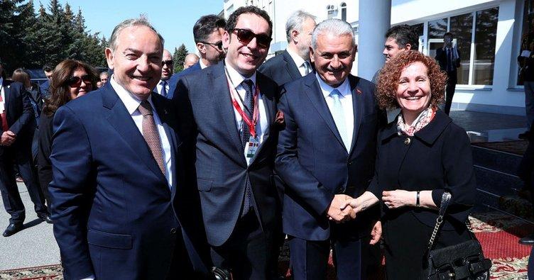 Son dakika haberi: Başbakan Yıldırım, Moldova'da