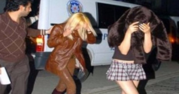 Güzellik merkezine fuhuş baskını: 9 gözaltı!