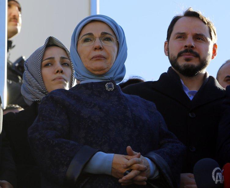 Emine Erdoğan Siirt'e gitti