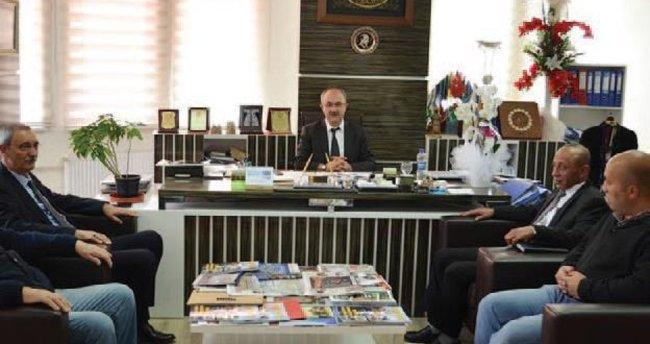 İller Bankası Bölge Müdürü, Gülcüoğlu'nü Ziyaret Etti