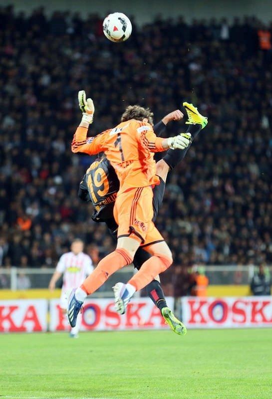 Sivasspor - Galatasaray maçından fotoğraflar