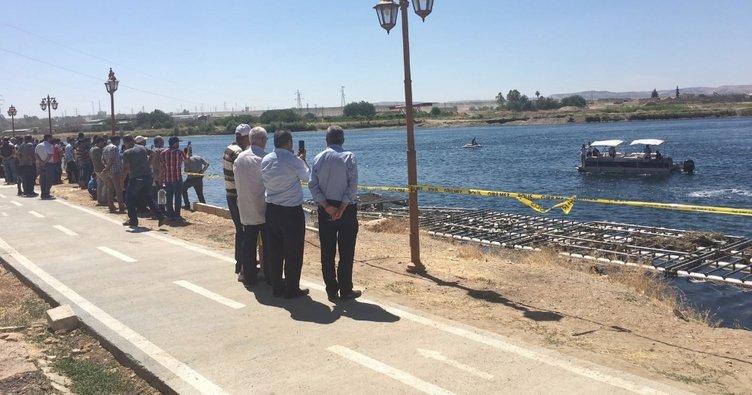 Serinlemek için Fırat Nehri'ne giren 3 Suriyelinin cesedine ulaşıldı