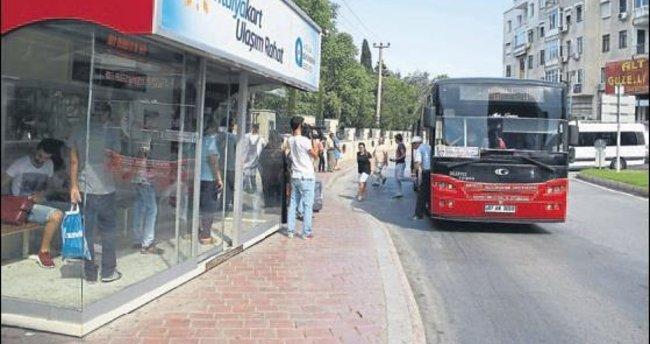Otobüsçülerden destek geldi