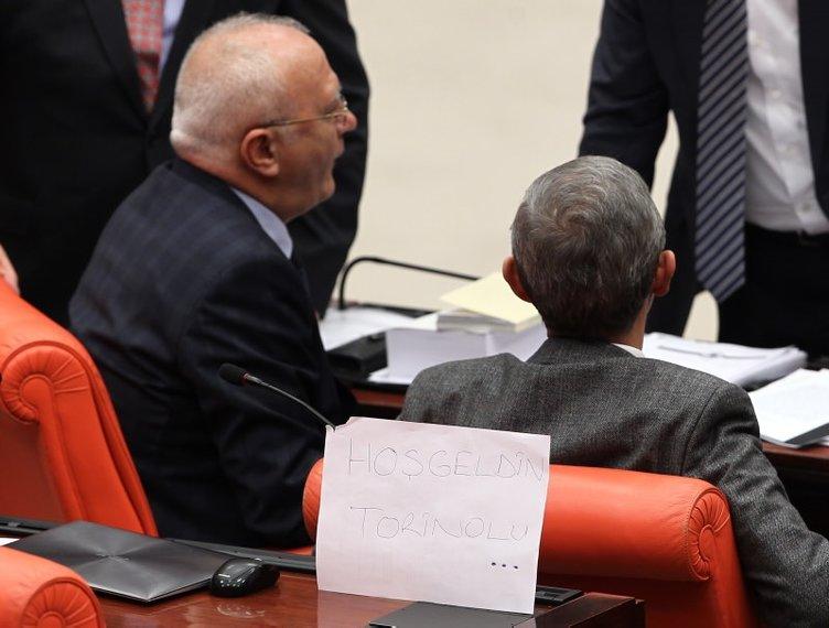 Meclis'te Yüce Divan oylamasından kareler