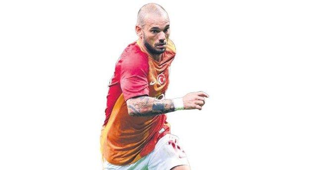 Sneijder'in test günü