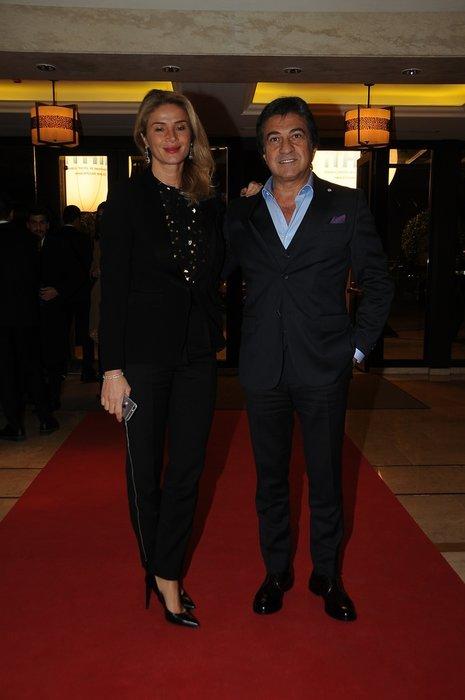 11. İstanbul Uluslararası Kumaş Tasarım Yarışması'nda ünlüler geçidi