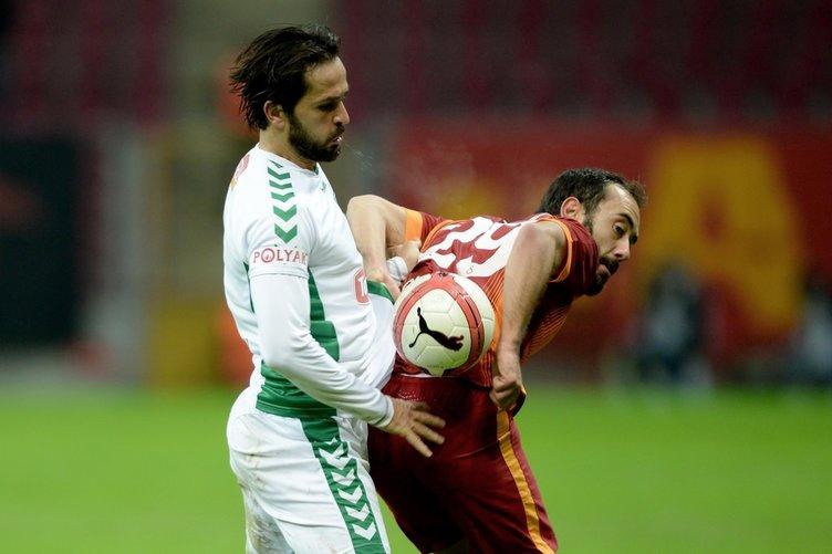 Galatasaray - Torku Konyaspor Ziraat Türkiye Kupası maçından kareler