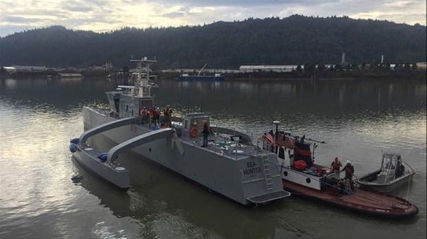 ABD'nin insansız deniz aracı