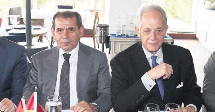 Galatasaray Başkanı eli boş dönmez