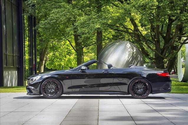 838 HP'lik Brabus 850 6,0 Cabrio