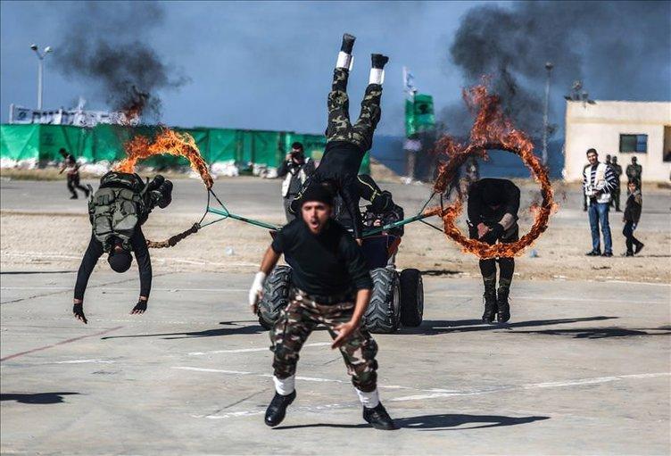 Gazze'de mezuniyet töreni!