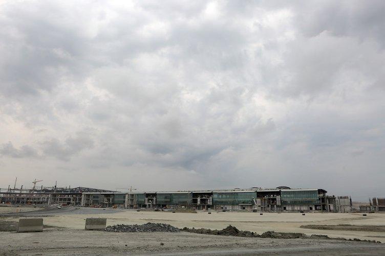 3. Havalimanı'nın yüzde 55'i tamamlandı