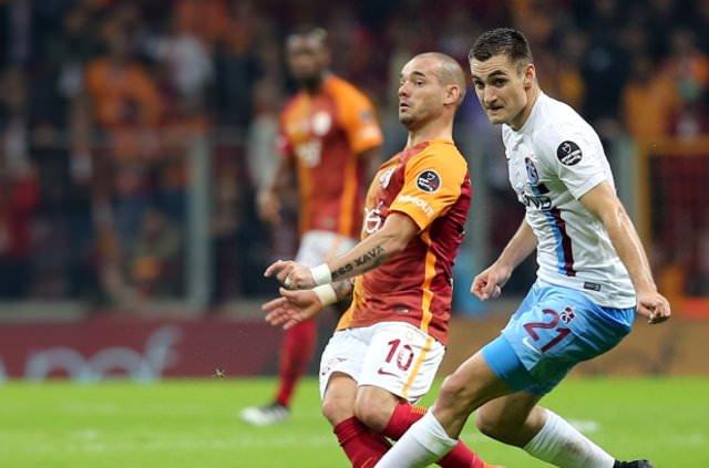 Galatasaray'da Sneijder-Muslera krizi