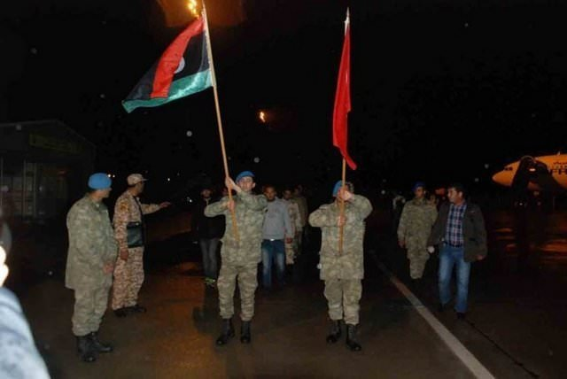 Libya askerleri Türkiye'de eğitim alacaklar