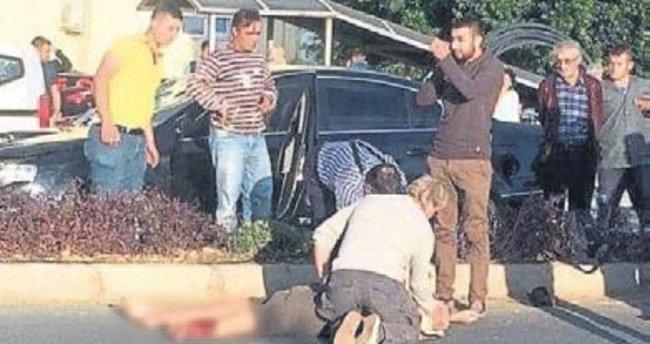 Yerleşik Belçikalı kaza kurbanı oldu