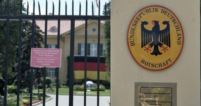 Almanya Büyükelçisi, Dışişleri Bakanlığı'na çağrıldı