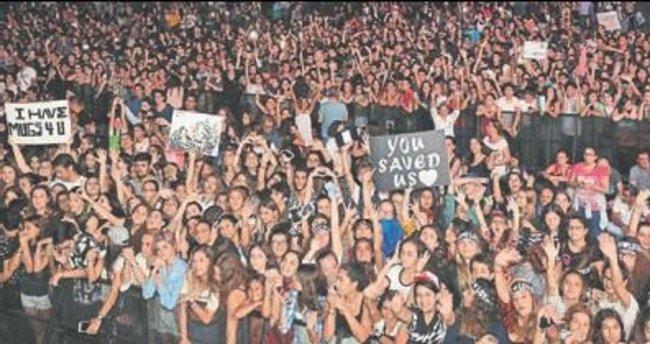 Demi Lovato'dan EXPO'da konser