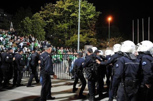 Bursa'da maç sonrası olaylar