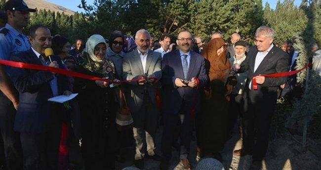 Bayburt'ta 15 Temmuz Şehitler Parkı açıldı