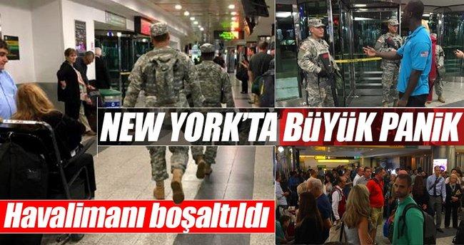 New York La Guardia Havalimanı'nda şüpheli araç paniği