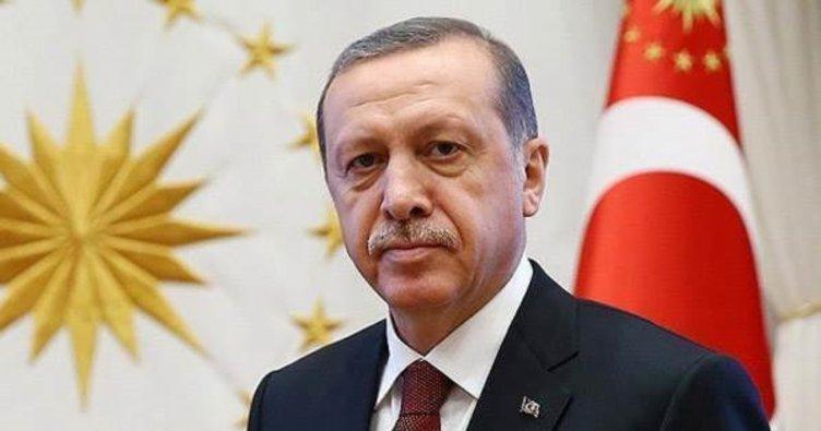 Cumhurbaşkanı Erdoğan, altın madalya kazanan millileri kutladı!