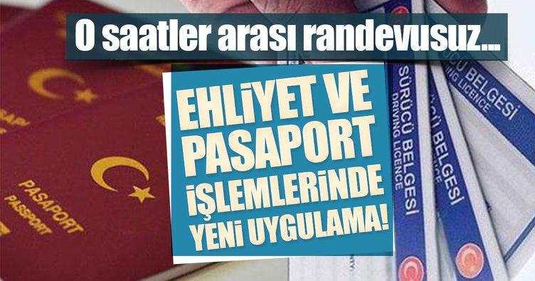 Ehliyet ve pasaport başvurularında son dakika gelişmesi!