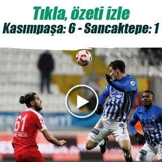 Kasımpaşa - Sancaktepe Belediyespor maç sonucu