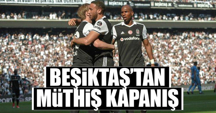 Beşiktaş'tan muhteşem kapanış