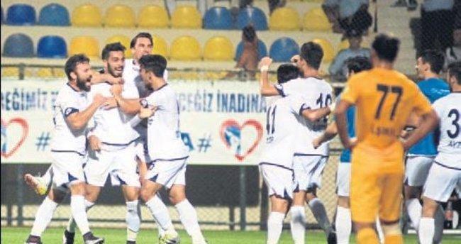 Fethiyespor'un liderlik keyfi