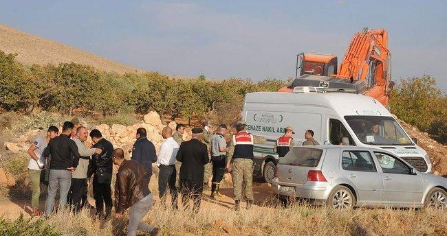 5 gündür kayıp bekçinin cesedi 8 saatlik çalışma sonucu bulundu