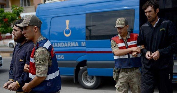 Suriye sınırında yakalanan DEAŞ'lı teröristler tutuklandı