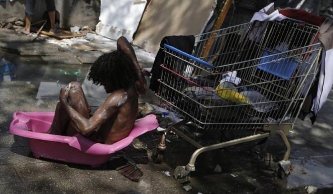 Brezilya'nın ürkütücü mahallesi