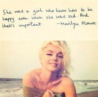 Marilyn Monroe'dan alabileceğiniz 18 hayat dersi