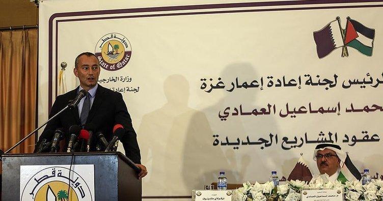Katar son 5 yılda Gazze'de 500 milyon dolarlık projelere imza attı