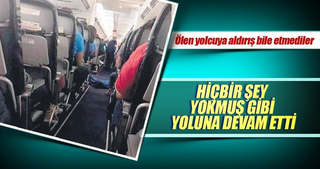 Antalya-Moskova uçağında cansız beden