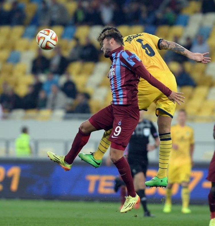 Metalist Kharkiv - Trabzonspor maçının fotoğrafları