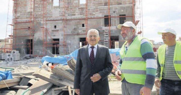 'Jandarma Mektebi' restore ediliyor