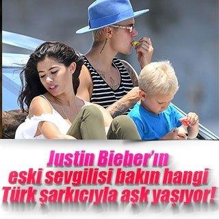 Sinan Akçıl, Justin Bieber'ın eski sevgilisiyle birlikte
