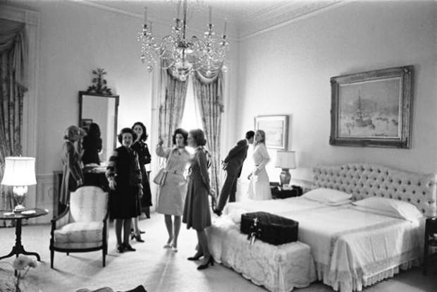 ABD başkanlarının yatak odaları