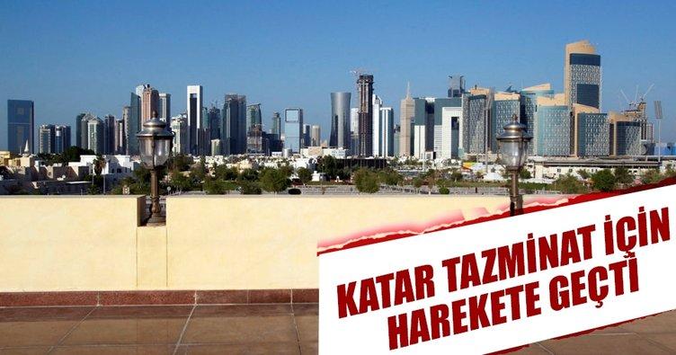 Katar tazminat için harekete geçti