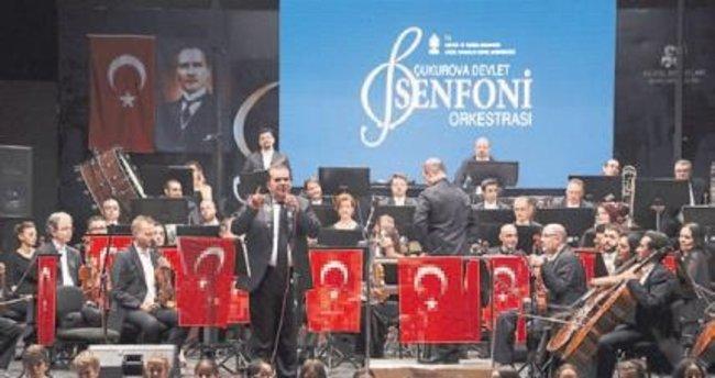 Çukurova Senfoni'den bayram özel konseri