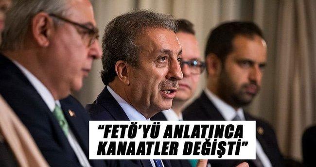 """""""FETÖ'yü anlatınca kanaatleri değişti"""""""