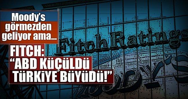 Fitch ABD için büyüme beklentisini düşürdü, Türkiye için büyüttü!