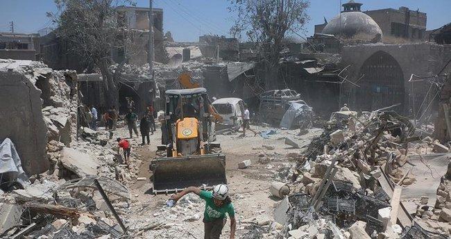 İdlib'te yerleşim yerine saldırı