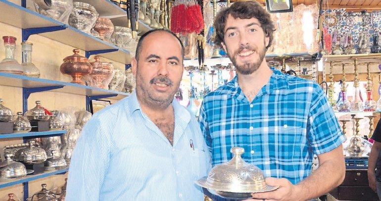 Amerika'da usta Gaziantep'te çırak