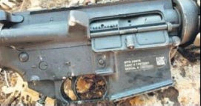 Hainler vuruldu ABD silahı çıktı