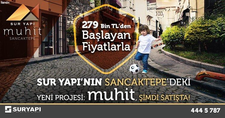 Sur Yapı Muhit Sancaktepe'de Satışta