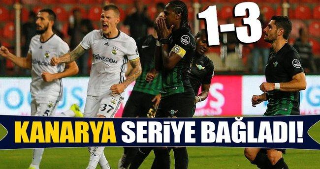 Akhisar Belediyespor- Fenerbahçe maç sonucu